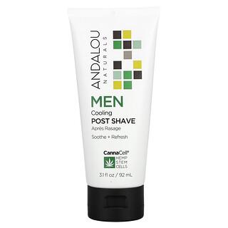 Andalou Naturals, CannaCell, Men, Cooling Post Shave, 3.1 fl oz (92 ml)