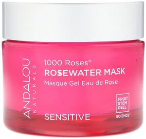 Андалу Натуралс, 1000 Roses, Rosewater Mask, Sensitive, 1.7 oz (50 g) отзывы покупателей