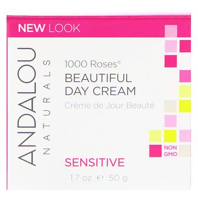Дневной крем для чувствительной кожи, 1000 роз, 1.7 унций (50 мл) дневной крем для чувствительной кожи 1000 роз 1 7 унций 50 мл