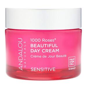 Андалу Натуралс, 1000 Roses Beautiful Day Cream, Sensitive, 1.7 oz (50 ml) отзывы покупателей