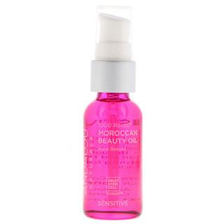 Andalou Naturals, 1000 Roses, Moroccan Beauty Oil, Sensitive, 1 fl oz (30 ml)