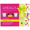 Andalou Naturals, 1000 Roses, Get Started Kit, Sensitive, 5 Piece Kit