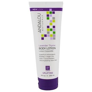 Andalou Naturals, Lavender Thyme Refreshing Body Lotion, 8 fl oz (236 ml)
