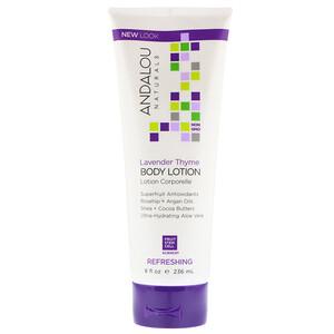 Андалу Натуралс, Body Lotion, Uplifting, Lavender Thyme, 8 fl oz (236 ml) отзывы покупателей