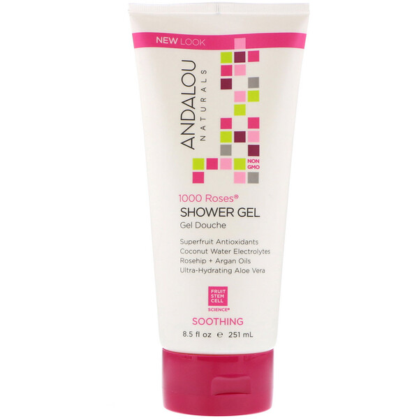 1000 Roses, Shower Gel, Soothing, 8.5 fl oz (251 ml)