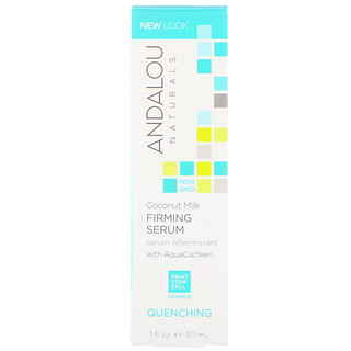Andalou Naturals, Coconut Milk Firming Serum, Quenching, 1 fl oz (30 ml)