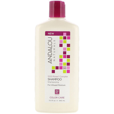 Shampoo, Color Care, For Infused Moisture, 1000 Roses Complex, 11.5 fl oz (340 ml)