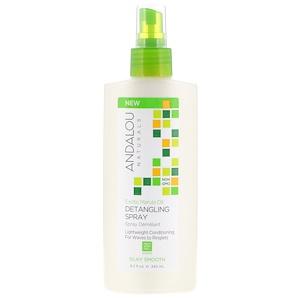 Андалу Натуралс, Exotic Marula Oil, Silky Smooth Detangling Spray, 8.2 fl oz (242 ml) отзывы покупателей