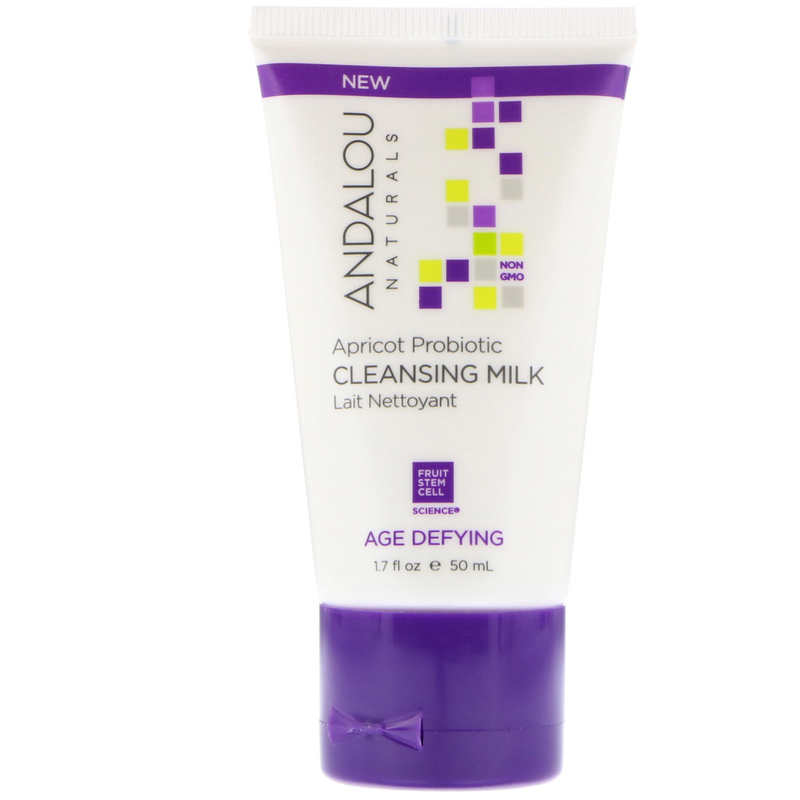 Age-Dyfing Apricot Probiotic Cleansing Milk - 6 fl. oz. by Andalou Naturals (pack of 1) Foaming Face Wash Rose Geranium - 6 fl. oz. by Kosmatology (pack of 2)