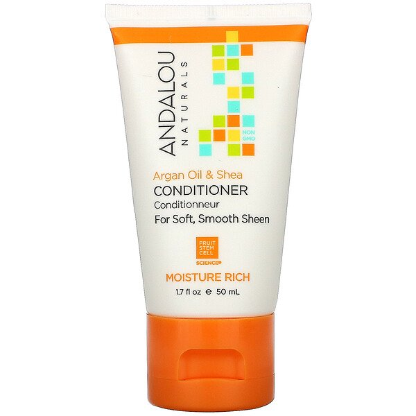 Andalou Naturals, Conditioner, Argan Oil & Shea, 1.7 fl oz (50 ml)