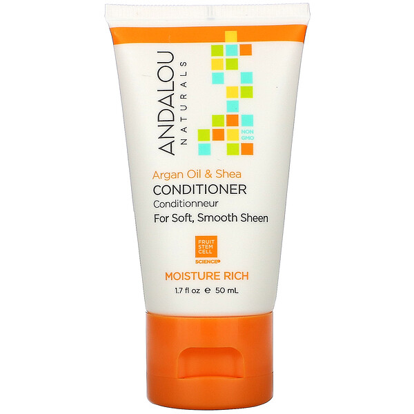 Conditioner, Argan Oil & Shea, 1.7 fl oz (50 ml)