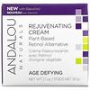 Andalou Naturals, Rejuvenating Cream, Plant-Based Retinol Alternative, Age Defying, 1.7 oz (50 g)