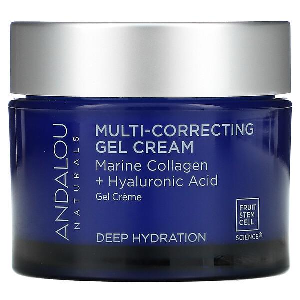 Multi-Correcting Cream, Bio-Designed Collagen + Hyaluronic Acid, 1.7 fl oz (50 ml)