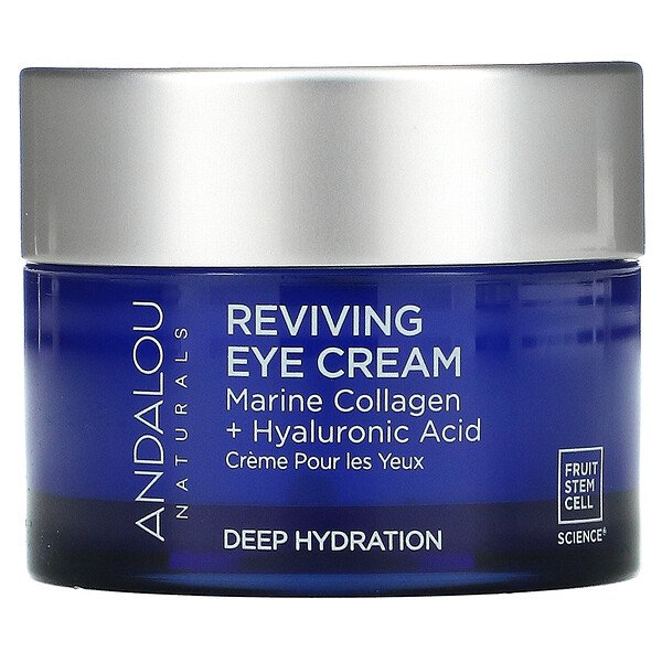 Reviving Eye Cream, Bio-Designed Collagen + Hyaluronic Acid, 0.45 fl oz (13 ml)