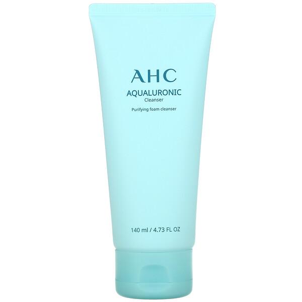 Aqualuronic,泡沫泡沫洁面乳,4.73 液量盎司(140 毫升)