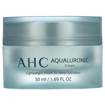 Купить AHC Aqualuronic, увлажняющий крем, 50мл (1, 69жидк.унции)