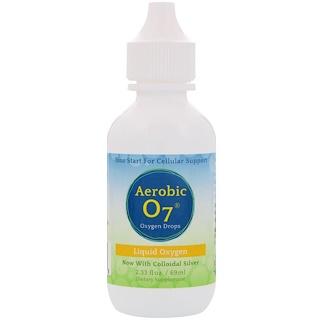 Aerobic Life, 에어로빅 07, 안정화된 산소, 2.33 액량 온스 (70 ml)