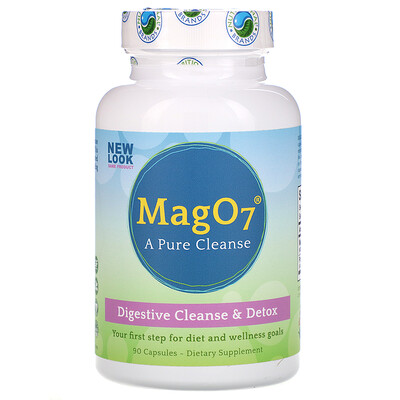 Mag O7, Digestive Cleanse & Detox, 90 Capsules mag 07 the ultimate oxygenating digestive system cleanser 120 vegetarian capsules