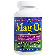 Aerobic Life, Mag 07, The Ultimate Oxygenating Digestive System Cleanser, 90 Veggie Caps
