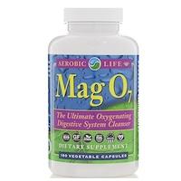 Mag 07, эффективное окисляющее средство для очистки пищеварительной системы, 180 растительных капсул - фото