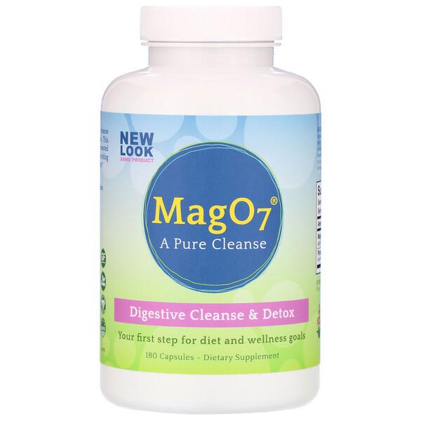 Aerobic Life, Mag O7, Digestive Cleanse & Detox, 180 Capsules