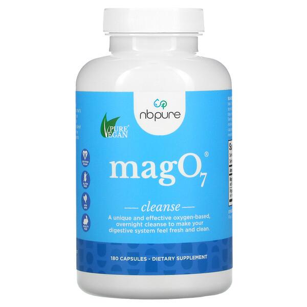 MagO7, Limpieza y desintoxicación digestivas, 180cápsulas