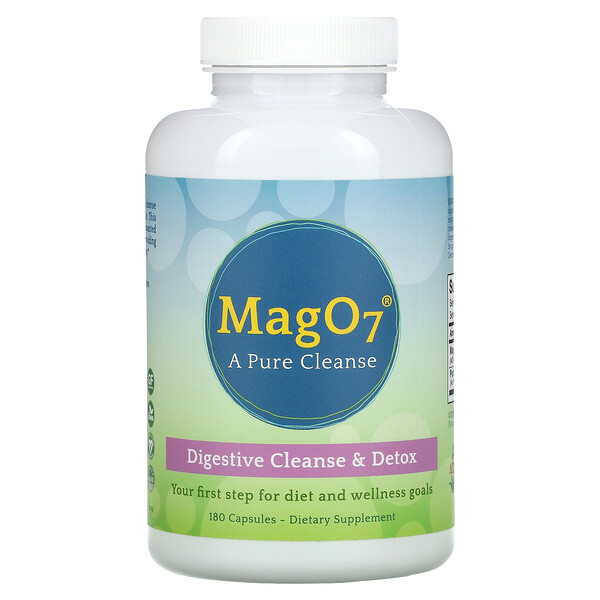 MagO7, A Pure Cleanse, 180 Capsules