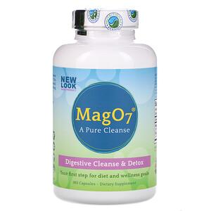 Аэробик Лайф, Mag O7, Digestive Cleanse & Detox, 180 Capsules отзывы покупателей