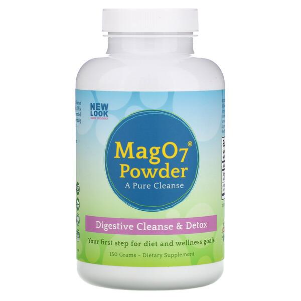 Mag 07 Powder, Digestive Cleanse & Detox, 150 g