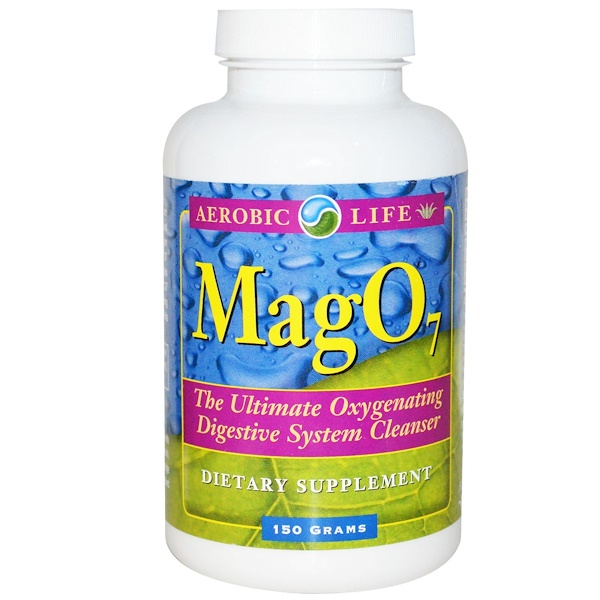 Aerobic Life, Mag 07, Oxygenating Digestive System Cleanser, 150 g (Discontinued Item)