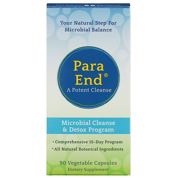 ParaEnd, A Potent Cleanse, 90 Vegetable Capsules