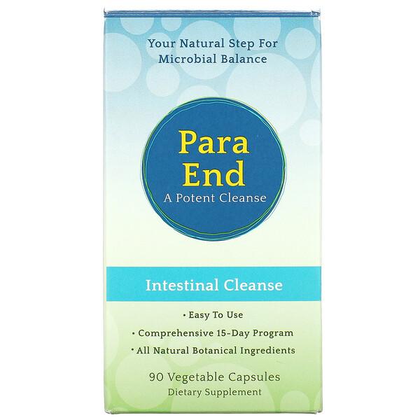 Aerobic Life, ParaEnd(パラエンド)、A Potent Cleanse(体の内から美しく)、植物性カプセル90粒