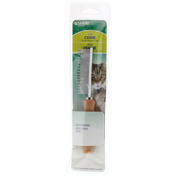 Safari, Cat Shedding Comb for All Breeds of Cats
