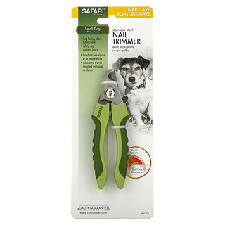 Safari, Stainless Steel Nail Trimmer, Small Dogs, 1 Tool