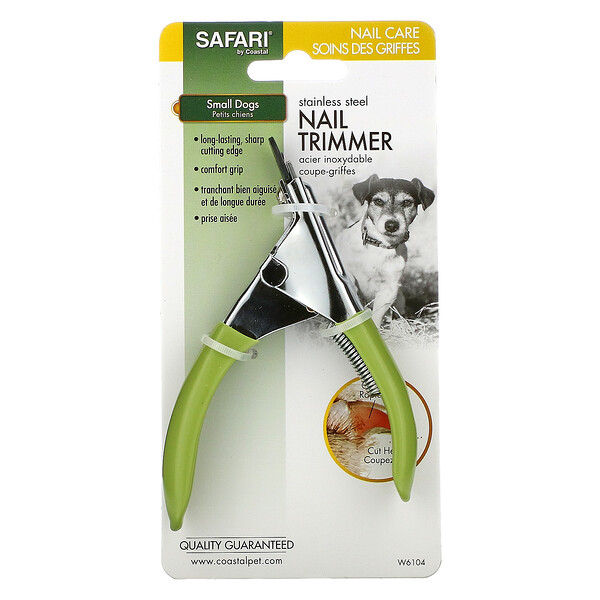 Stainless Steel Nail Trimmer, Small Dogs, W6104, 1 Tool