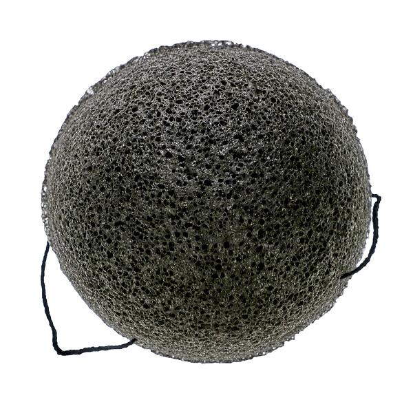 AfterSpa, Charcoal Konjac Sponge, 1 Sponge