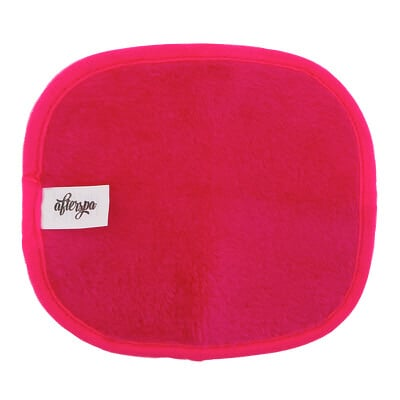 AfterSpa Волшебная многоразовая салфетка для снятия макияжа — мини, розовая, 1 салфетка