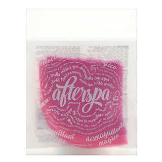 AfterSpa, Magic Make Up Remover Reusable Cloth - Mini, Pink, 1 Cloth