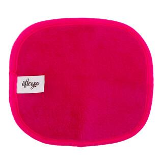 AfterSpa, Paño reusable removedor mágico de maquillaje - Mini, rosado, 1 paño