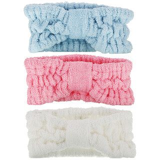 AfterSpa, 3 Head Bands, 3 Pieces