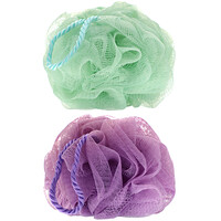AfterSpa, Mesh Pouf,  2 Pack