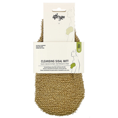 Купить AfterSpa Cleansing Sisal Mitt, 1 Mitt