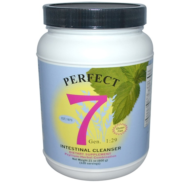 Agape Health Products, Perfect 7, Intestinal Cleanser, 21 oz (600 g) (Discontinued Item)