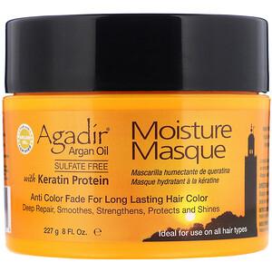 Agadir, Argan Oil, Moisture Masque with Keratin Protein, 8 fl oz (227 g) отзывы