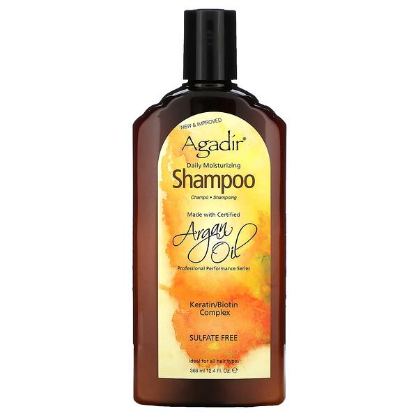 Argan Oil, Daily Moisturizing Shampoo, 12.4 fl oz (366 ml)