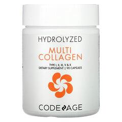 CodeAge, 水解多膠原蛋白,90 粒膠囊