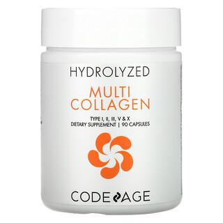 CodeAge, Hydrolyzed, Multi Collagen, 90 Capsules