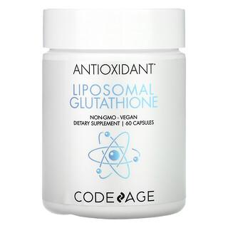 CodeAge, 還元成分、リポソームグルタチオン、60粒