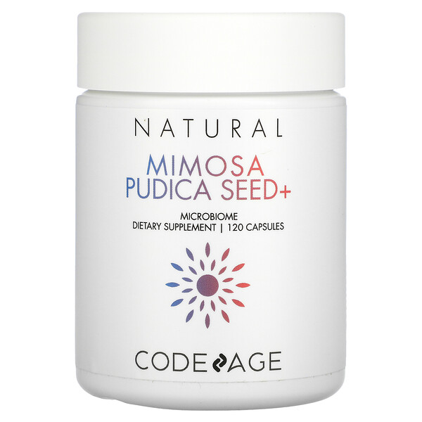 CodeAge, Mimosa Pudica Seed+, 120 Capsules
