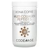 CodeAge, Kona Coffee, Multi Collagen Peptides, Chocolate Mocha Flavor, 14.39 oz (408 g)